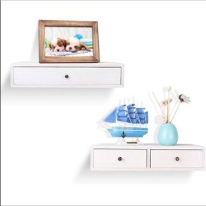 🎀 Floating Shelf with Drawer🎀